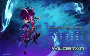 WildStar Aurin May 2014 Desktop Wallpaper
