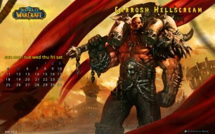 Garrosh Hellscream Desktop Wallpaper May 2014